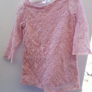 Osh kosh lace dress